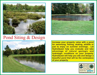 Site and Pond Evaluations